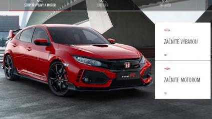 Konfigurátor Honda a porovnanie s konkurenciou