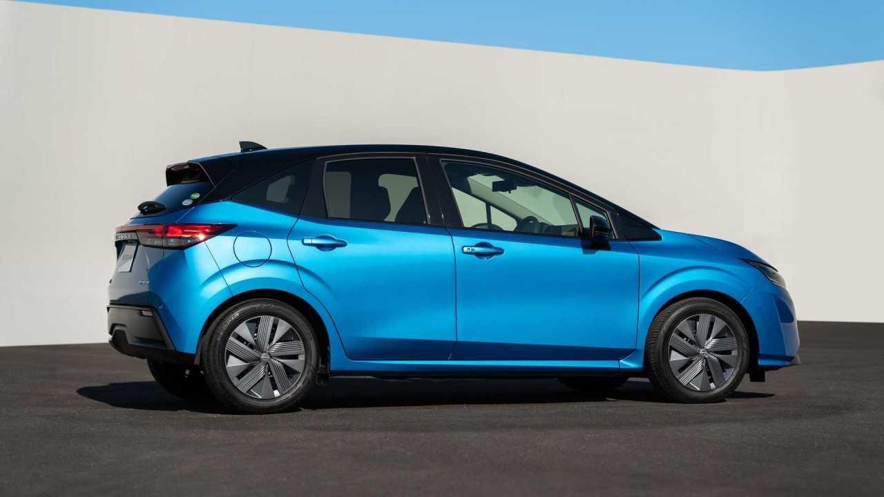 nový nissan note 2021 sa zmenil na elektromobil s pohonom