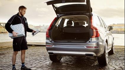 Volvo spustilo najpohodlnejší spôsob nakupovania. Donášku do auta