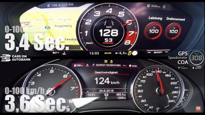 AUDI TT RS JE DO 290 KM/H RÝCHLEJŠIE AKO AUDI RS6 PERFORMANCE