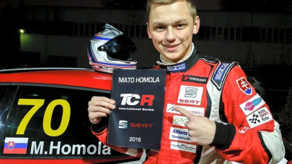 MAŤO HOMOLA BUDE JAZDIŤ V TCR INTERNATIONAL SERIES