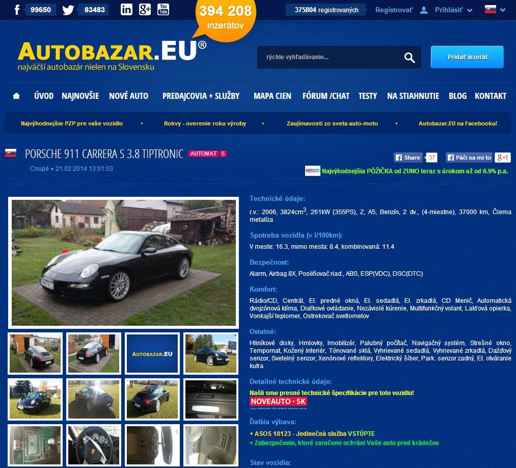 autobazar.eu radi ako predat auto efektivnejsie