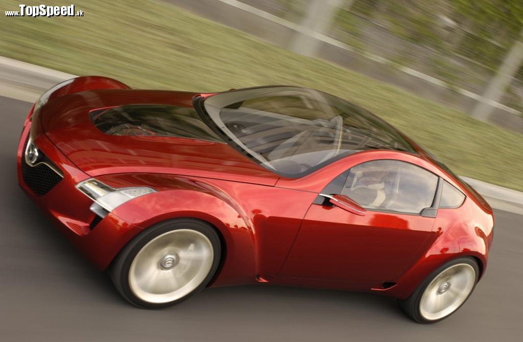 Mazda Kabura Concept z roku 2006 je predzvesťou nového kupé RX-9