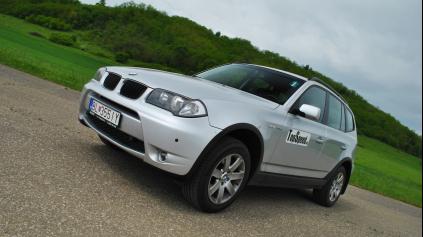 TEST JAZDENKY BMW X3 E83