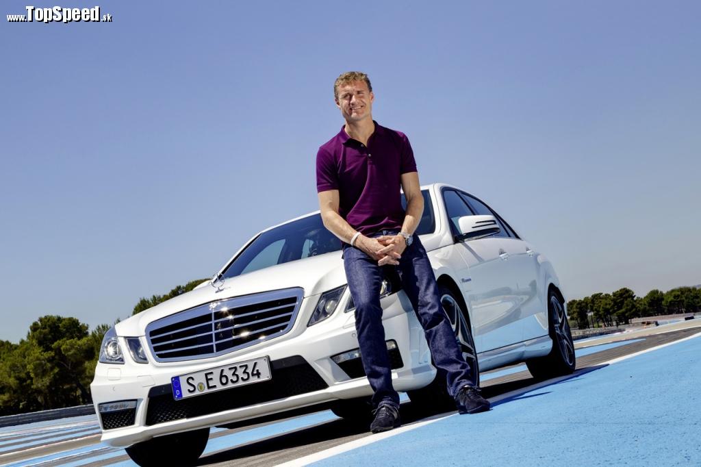David Coulthard a AMG