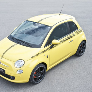 <p>Fiat 500 Hamann sportivo</p>