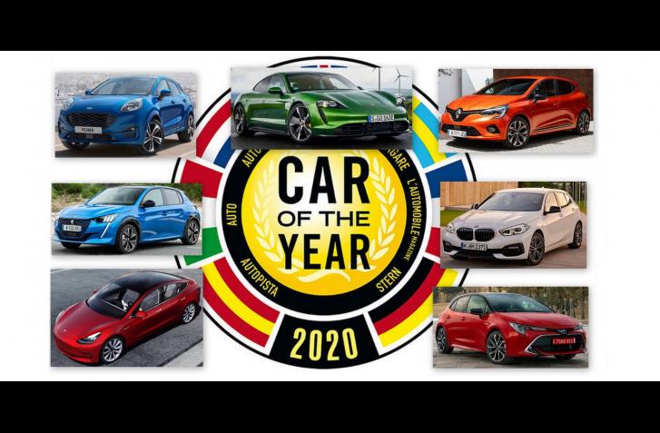 O AUTO ROKA 2020 SA POBIJE AJ TAYCAN S TESLOU 3. DO FINÁLE NEPREŠLO ŽIADNE SUV