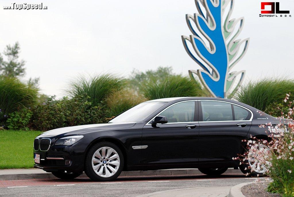 BMW Active Hybrid 7 vychádza z modelu 750i