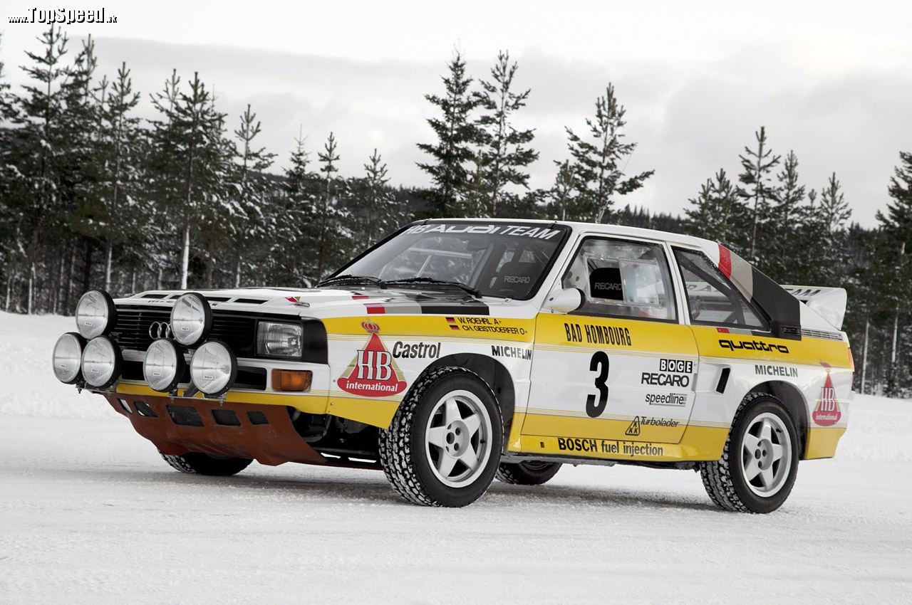 Audi S1 rally Group B