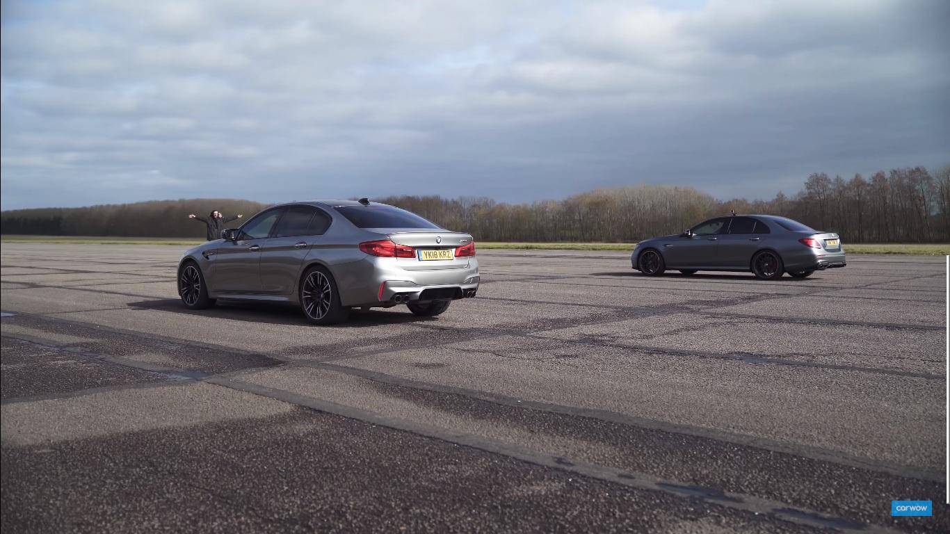 Bmw Vs Mercedes M5 Vs E63 S Topspeed Sk