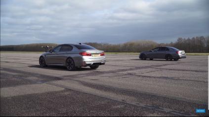 BMW VS MERCEDES, M5 VS E63 S