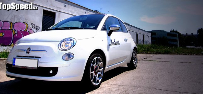 <p>Fiat 500 1.4 16v</p>