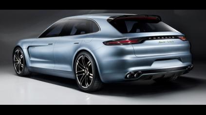 Pecka od Porsche je Panamera Sport Turismo Concept