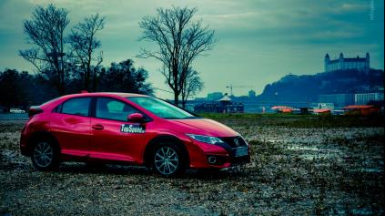 Test Honda Civic (9. gen)