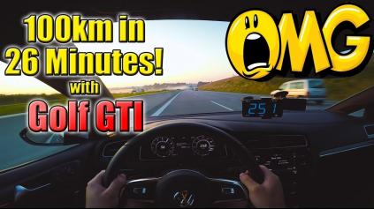 100 KILOMETROV ZA 26 MINÚT? CARS ON AUTOBAHN TO PREDVEDIE