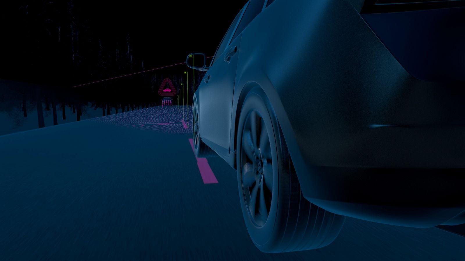 Volvo XC60 automatický vyhýbací manéver