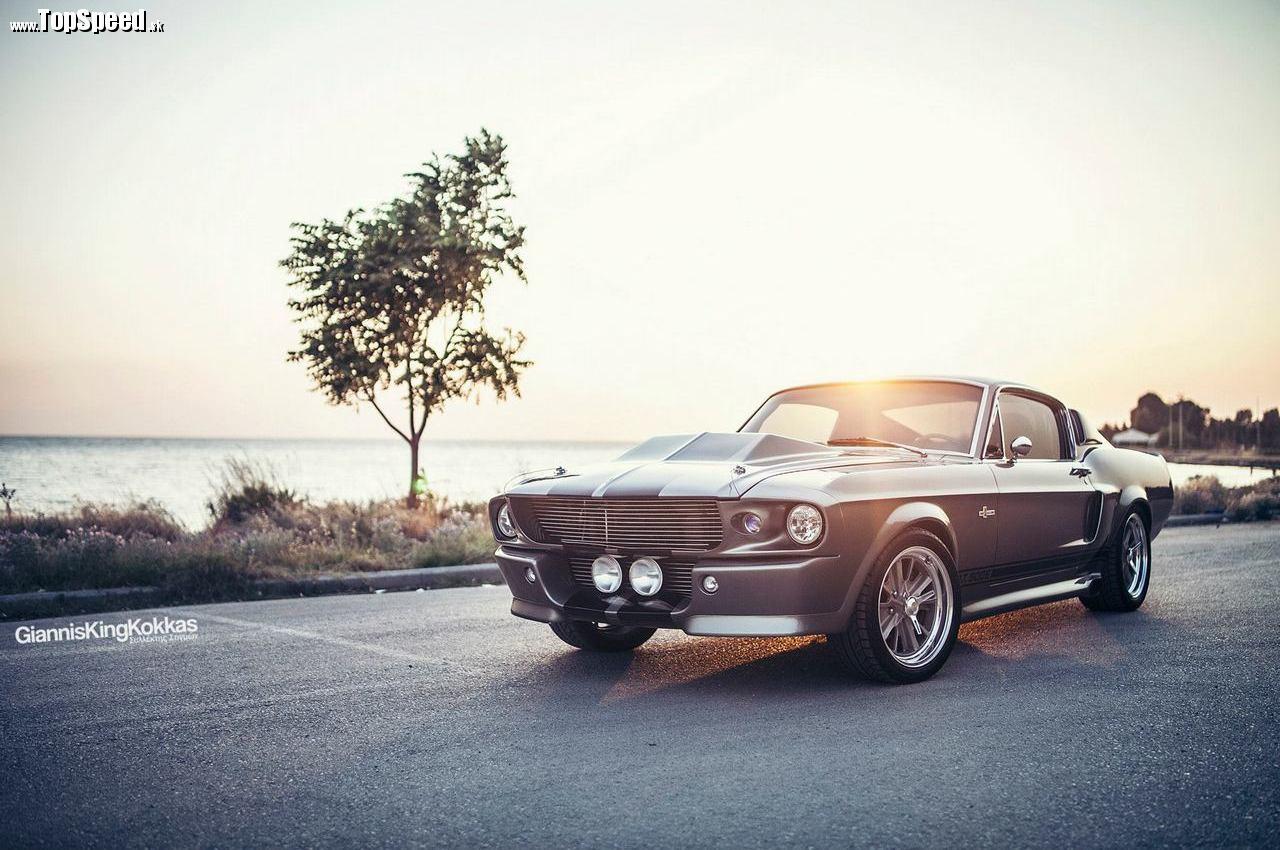 To najlepšie na koniec - 1967 Ford Mustang Fastback Shelby GT500