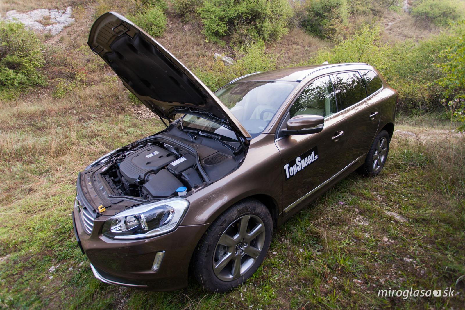 TopSpeed.sk test Volvo XC60 D5
