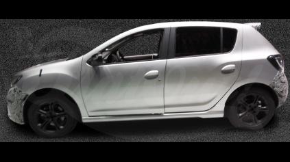 Dacia Sandero RS : minimálne 150 koní a menej ako 1100 kg.