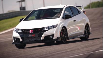 Jazda Honda Civic TypeR (9G)