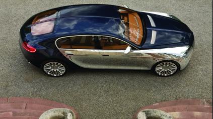Bugatti oživilo plány na super-luxusný sedan Galibier