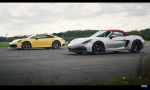 Šprint Porsche 911 C4S a Boxster GTS: má malé Porsche šancu?