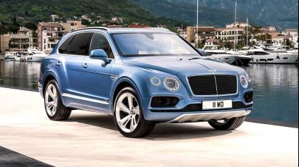 Bentley Bentayga diesel má techniku Audi SQ7. No je najrýchlejší diesel sveta
