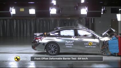 V Euro NCAP Lexus ES nesklamal