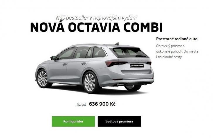 ŠKODA OCTAVIA IV ODHALILA CENY. OBAVY SA POTVRDILI