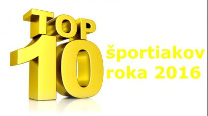 TOP10 ŠPORTIAKOV ROKA 2016 PODĽA VOLANT.TV (1. ČASŤ)