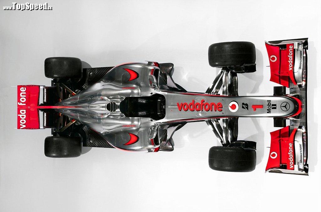 McLaren MP4-25 v celej svojej kráse