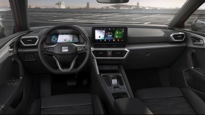 Nový SEAT Leon má novinku, ktorú nemá ani Golf