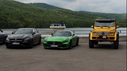 S Mercedes-AMG okolo Slovenska 1. časť