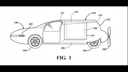 Toyota si dala patentovať trup a krídla pre lietajúce auto