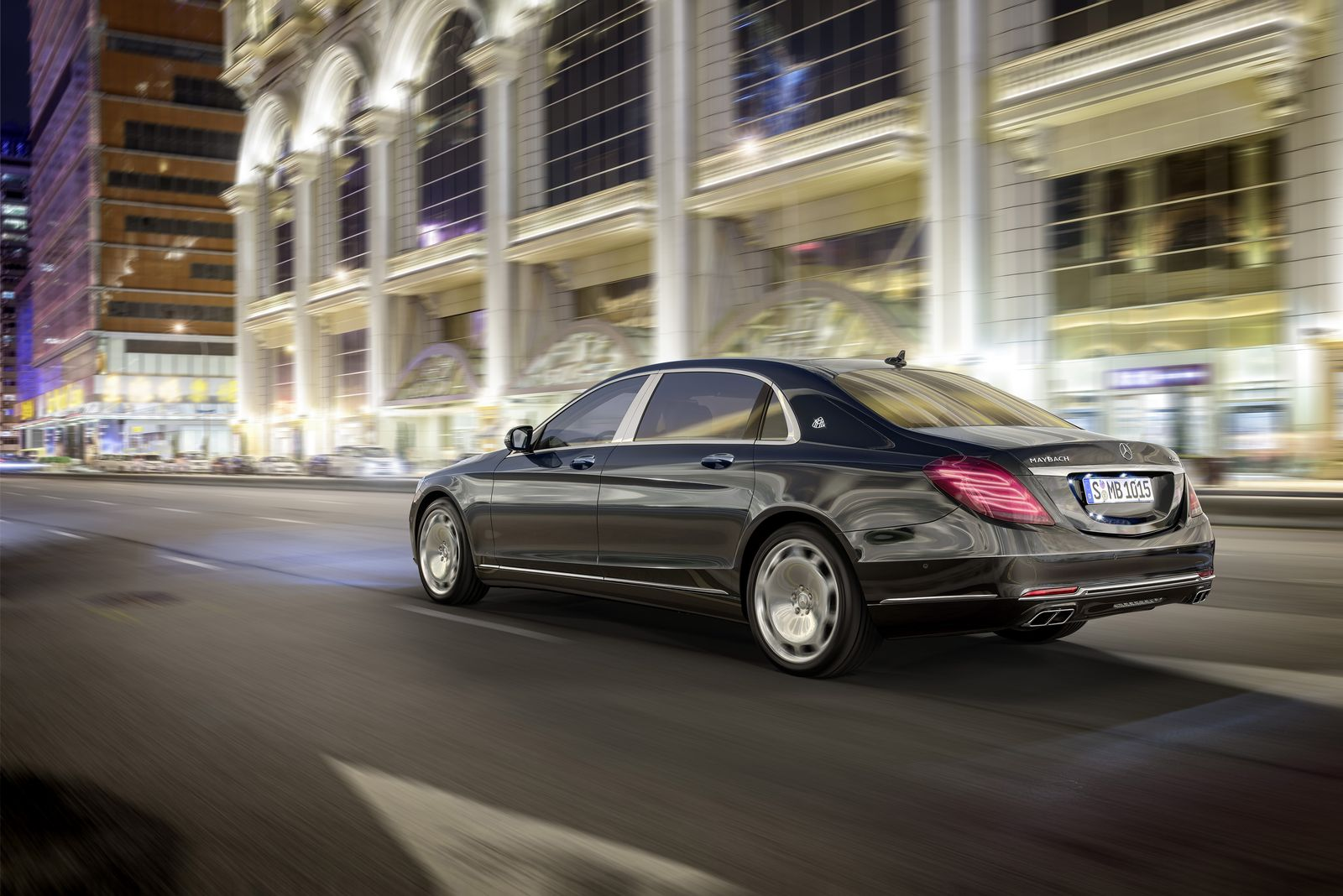 Mercedes-Benz S Maybach