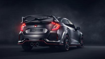 Predstavili nový prototyp Honda Civic Type R