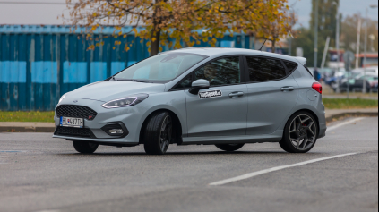 TEST: Nový Ford Fiesta ST 1,5 EcoBoost. Za tri? Nie, na výbornú!