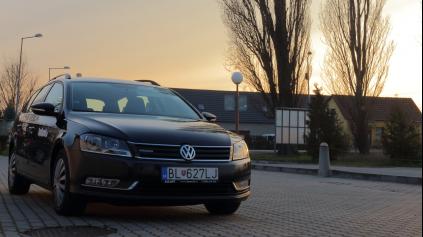 Test jazdenky Volkswagen Passat B7 (2010 - 2014)