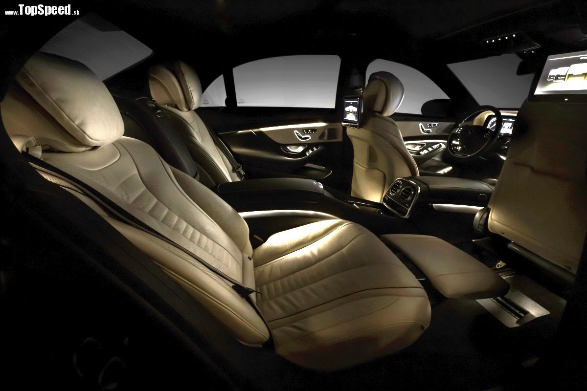 Interiér nového Mercedesu S