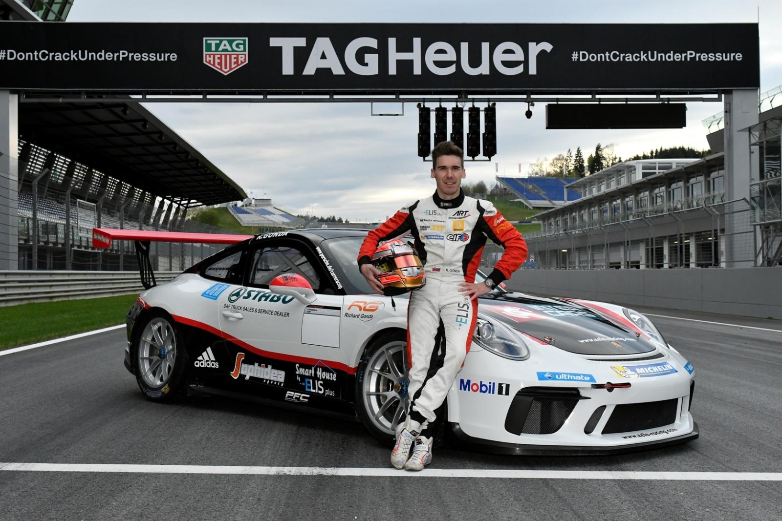 Richard Gonda bude pretekať v prestížnom Porsche Carrera Cupe
