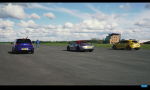Šprint Boxster GTS a Golf R a Megane RS: Súboj FWD a RWD a AWD