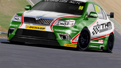 ŠKODA OCTAVIA VSTUPUJE DO BRITISH TOURING CAR CHAMPIONSHIP