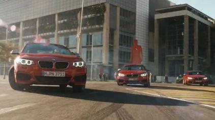 BMW UROBILO DRIFTMOB! POZRITE SI KRÁSNU CHOREOGRAFIU PIATICH M235I.