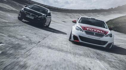 Peugeot 308 Racing Cup mení hot-hatch na okruhový špeciál