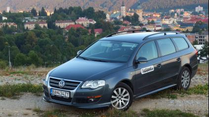 Test jazdenky Volkswagen Passat B6 (2005 - 2010)