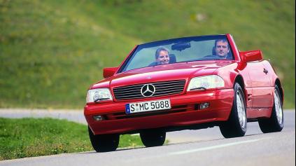 Žehlička oslavuje, Mercedes-Benz SL R129 má 30 rokov