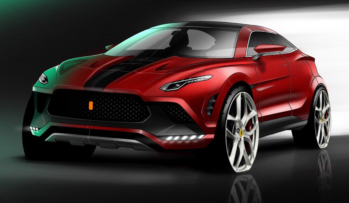 Ferrari Purosangue SUV: rendery pomaly prichádzajú