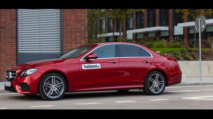 Test: Mercedes-Benz E350d (W213)