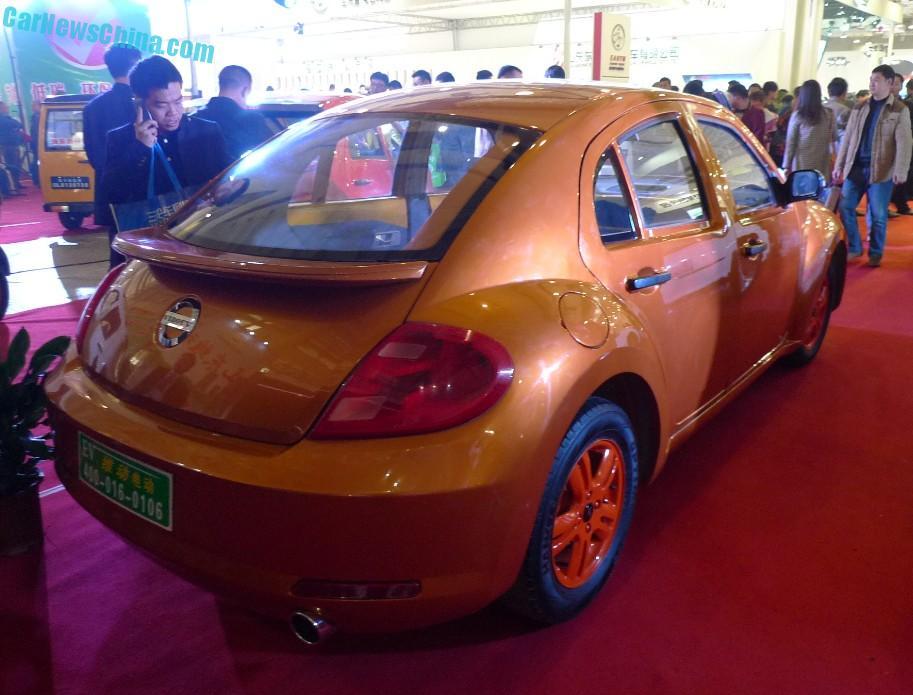 Čínska kópia VW Beetle