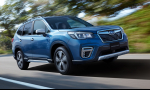 Subaru Forester je v bezpečnosti rekordér. Od JNCAP má 96,5 bodov